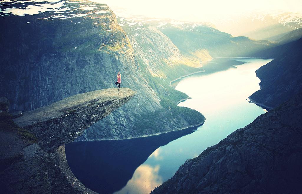 sattva balace norway fjord Birgit Gauriananda